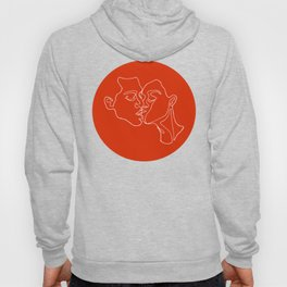 Kissing Lines no 1 Hoody