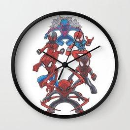 In a Tangled Web Wall Clock