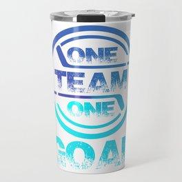 One Team One Goal bt Travel Mug