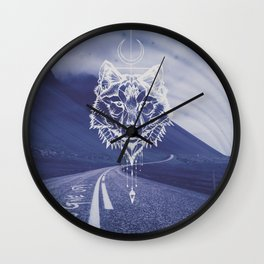 Never give up! Wall Clock
