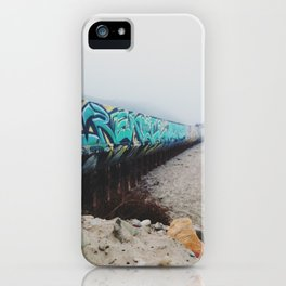 Beach Graffiti iPhone Case