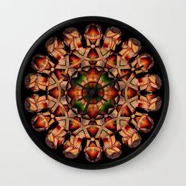 Mandala Man, 2430u Wall Clock