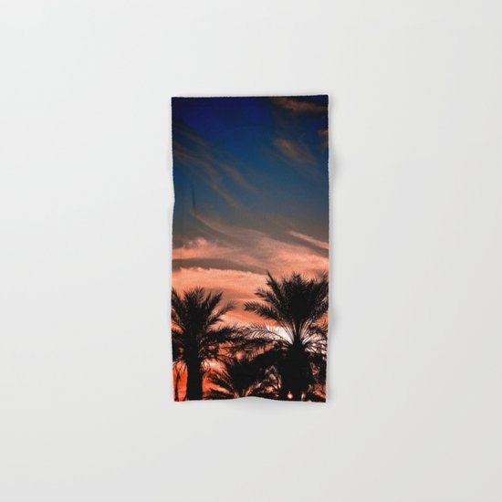Palm Sunset Hand & Bath Towel