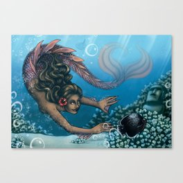 The Little Mermaid Canvas Print