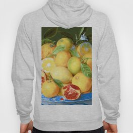 Still Life with Lemons, Oranges and Pomegranate Hoody