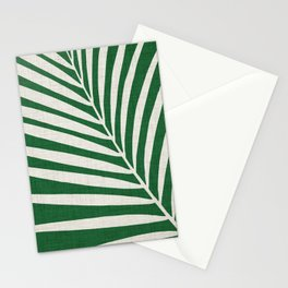 Minimalist Palm Leaf Stationery Cards