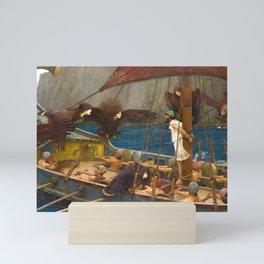 John William Waterhouse - Ulysses and the Sirens, 1891 Mini Art Print
