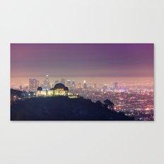 Los Angeles Cityscape Canvas Print