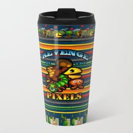 Pixeled Travel Mug