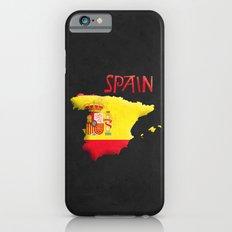 Spain Vintage Map Slim Case iPhone 6