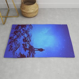 Lost the Moon While Counting Stars III Rug