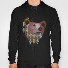 Argyle Bear Hoody