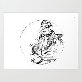 Clerk of the Court. Australia Art Print