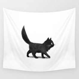 Creeping Cat Wall Tapestry