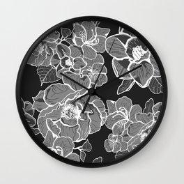 Brooklyn Botanic Garden, Black and White Wall Clock