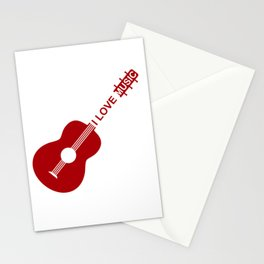 I love music #society6 #decor #buyart #artprint Stationery Cards