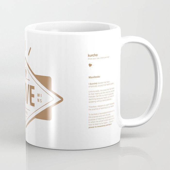 Kurcho - Real Love Wins Coffee Mug