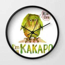 I'm a KAKAPO Wall Clock
