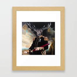 Yes My Deer Framed Art Print