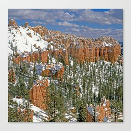 Brye canyon Canvas Print