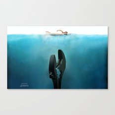 Crescent Jaws Canvas Print
