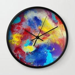 Bring Me Back by Nadia J Art Wall Clock