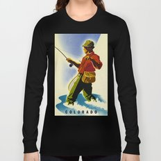 Colorado Fly Fishing Travel Long Sleeve T-shirt