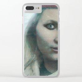 "VAMPLIFIED ""Asylum Nurse"" Clear iPhone Case"