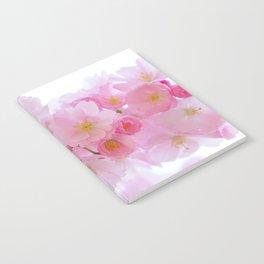 Pink Japanese Cherry Tree Blossom Notebook