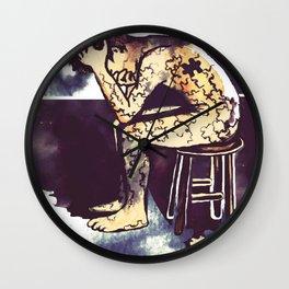 Blackened Sky/Puzzle Wall Clock