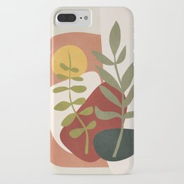 Two Abstract Branches iPhone Case