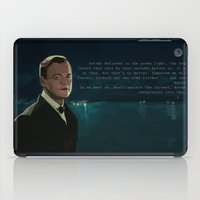 gatsby iPad Cases featuring The Great Gatsby by Vito Fabrizio Brugnola