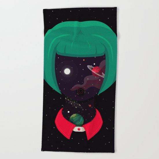 Cosmo Girl Beach Towel
