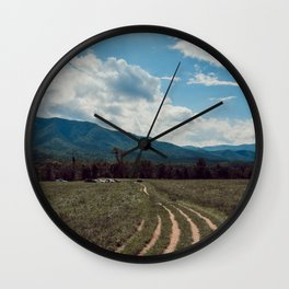The fields of Tennessee Wall Clock