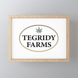 Tegridy Farms Logo Framed Mini Art Print