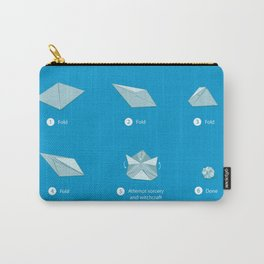 Step-by-step Origami Carry-All Pouch