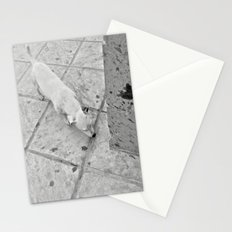 white corner Stationery Cards