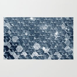 cosmic blues Rug