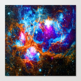 Cosmic Winter Wonderland Canvas Print