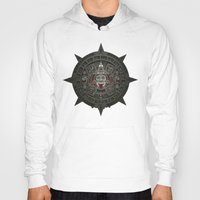 calendars Hoodies featuring Stone of the Sun I. by Dr. Lukas Brezak