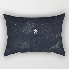 Gravity - Dark Blue Rectangular Pillow