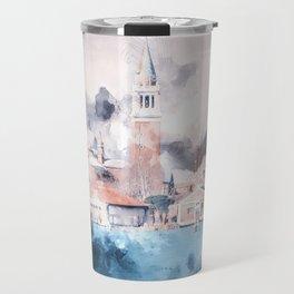 Venezia watercolour Travel Mug