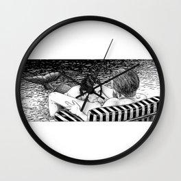 asc 793 - Le rivage de velour (Dive in a velvet slide) Wall Clock