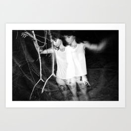 In the Woods 3 Art Print