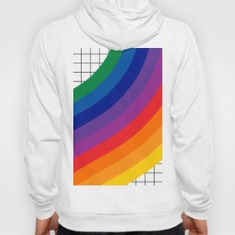 Rainbow Grid Hoody