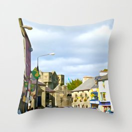 Donegal Town Throw Pillow
