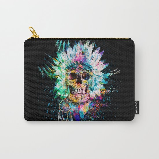 SKULL WILD S. Carry-All Pouch