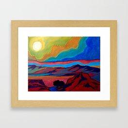 Mini Desert 1 Framed Art Print