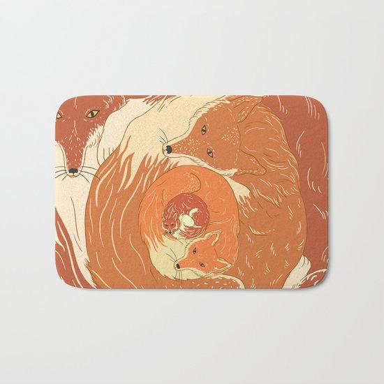 Foxes Bath Mat