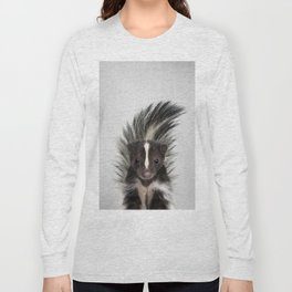 Skunk - Colorful Long Sleeve T-shirt